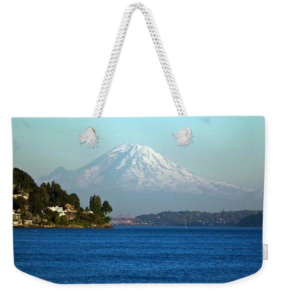 Rainier Vista Weekender Tote Bag