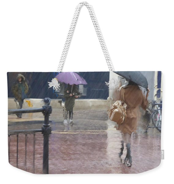 Raining All Around Weekender Tote Bag