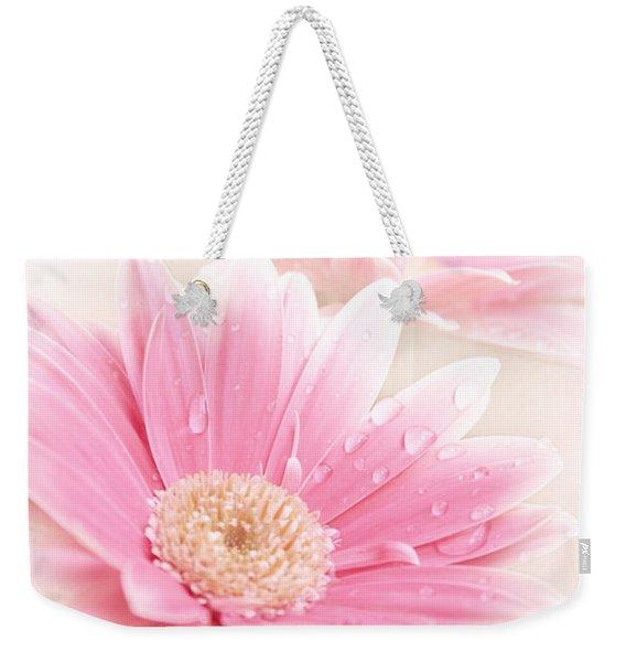 Raining Petals Weekender Tote Bag