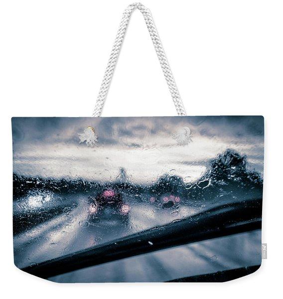 Rainy Day In July Weekender Tote Bag