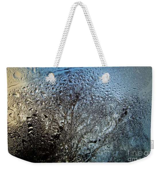 Rainy Day - Water Drops On Window Weekender Tote Bag