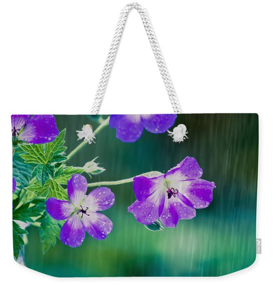 Rainy Days And Mondays Weekender Tote Bag