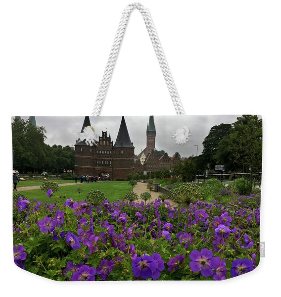Rainy Luebeck Is Beautiful Weekender Tote Bag