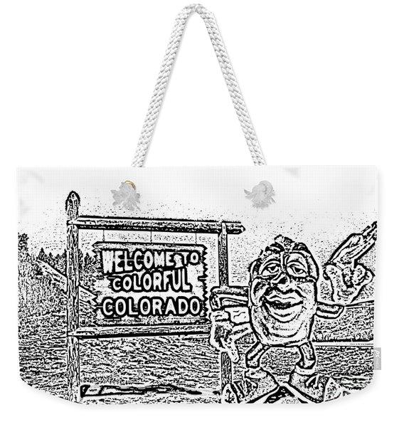 Raisin Drawing Weekender Tote Bag