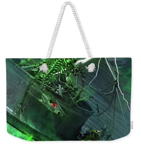 Raising The Dragon Weekender Tote Bag