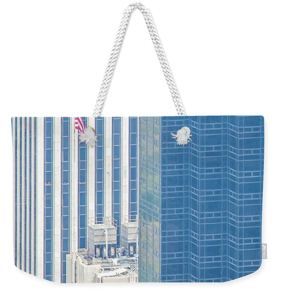 Raising The Flag Weekender Tote Bag