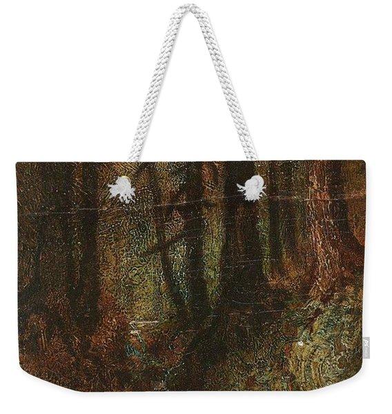 Ralph Albert Blakelock  1847  1919  Woodland Stream Weekender Tote Bag