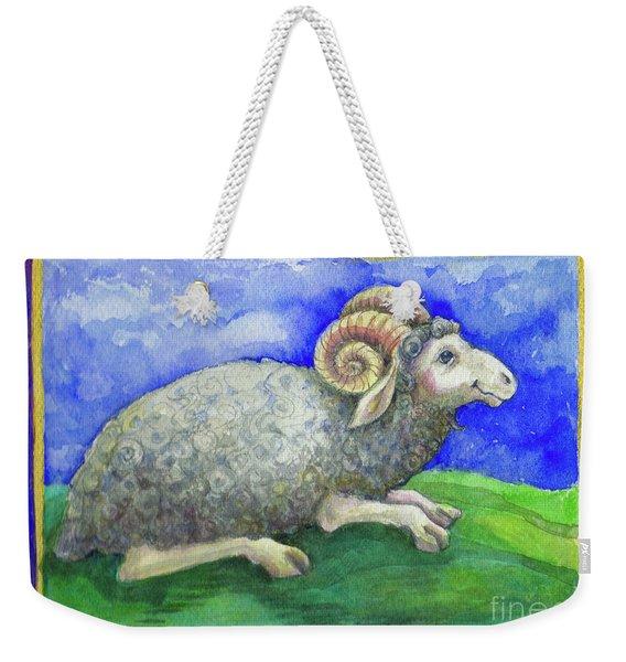 Ram Weekender Tote Bag