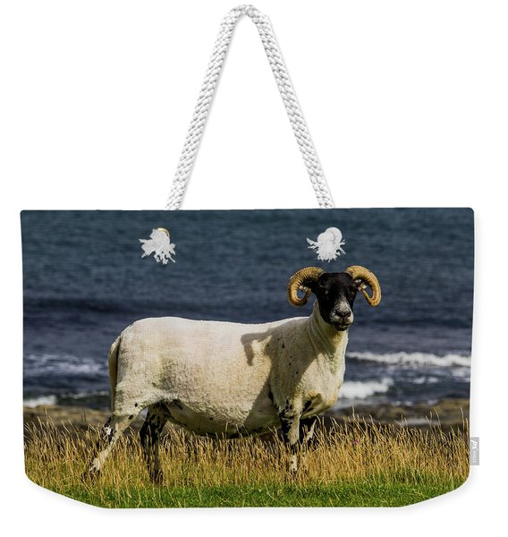Ram With Attitude Weekender Tote Bag