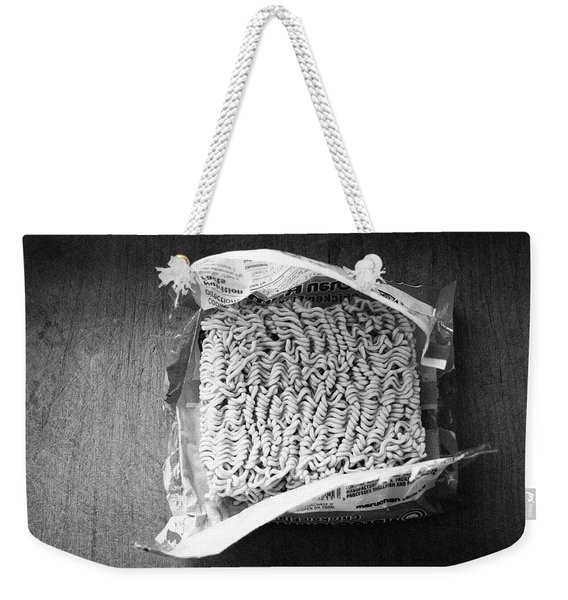 Ramen- Black And White Photography By Linda Woods Weekender Tote Bag