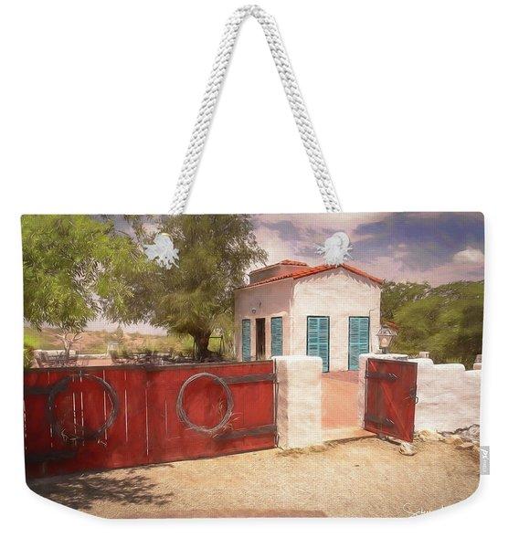 Ranch Family Homestead Weekender Tote Bag