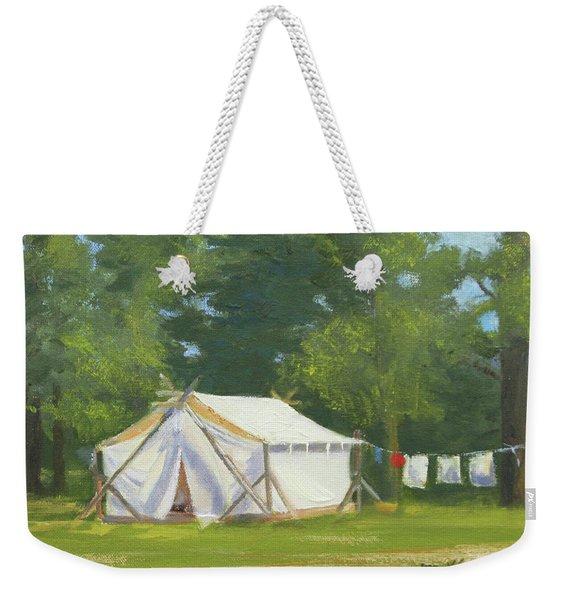 Randall's Camp Weekender Tote Bag
