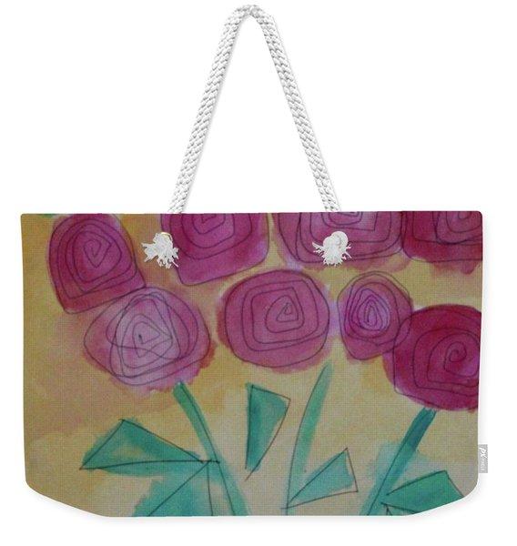 Randi's Roses Weekender Tote Bag