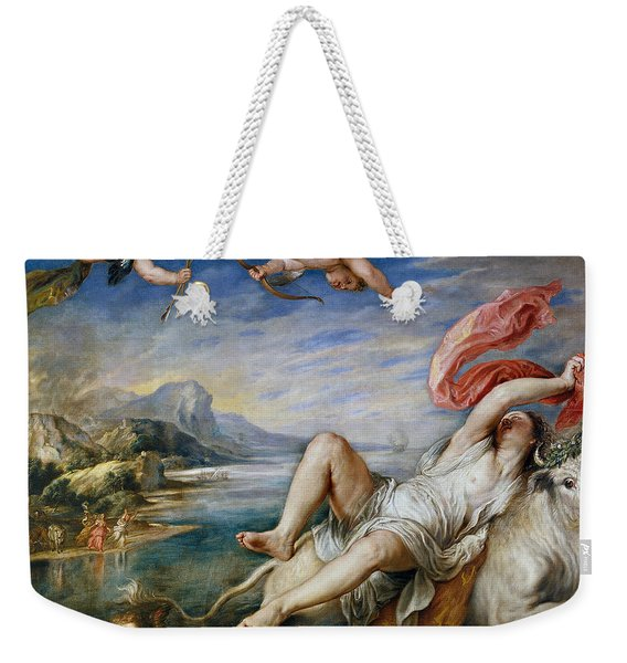 Rape Of Europe Weekender Tote Bag