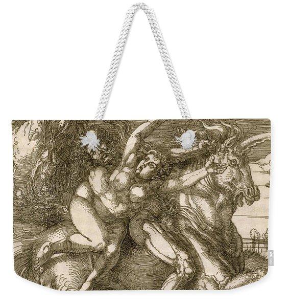 Rape Of Prosperpina Weekender Tote Bag