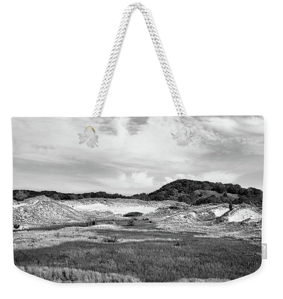 Rare Ecosystem Black And White Weekender Tote Bag