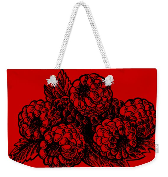 Rasbperries Weekender Tote Bag