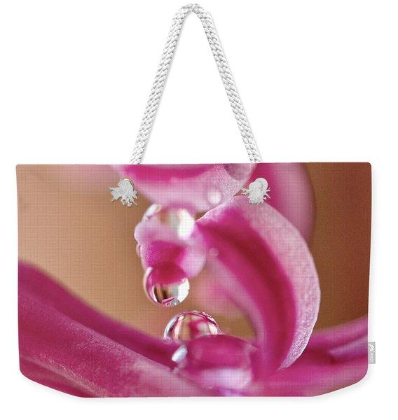 Raspberry Swirl Weekender Tote Bag