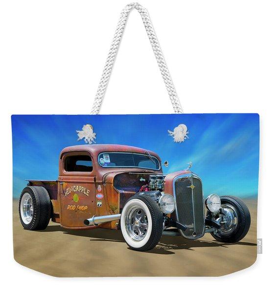 Rat Truck On The Beach Weekender Tote Bag