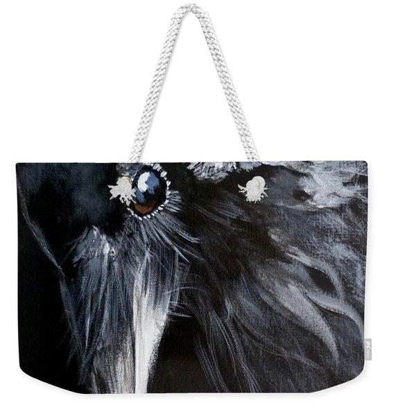 Raven Attentive Weekender Tote Bag