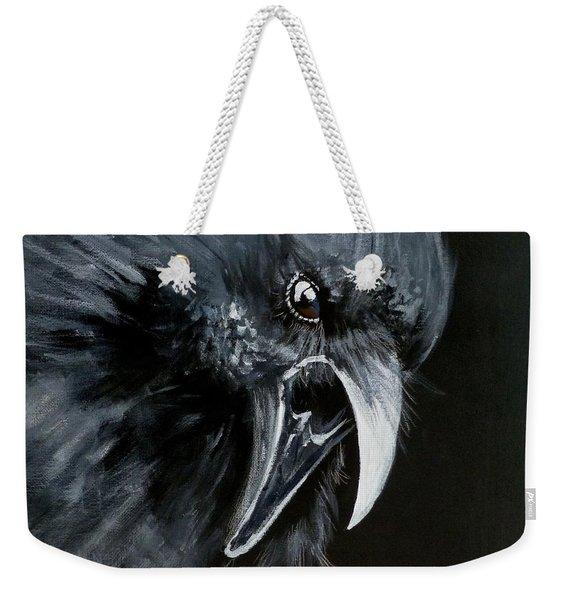 Raven Caw Weekender Tote Bag