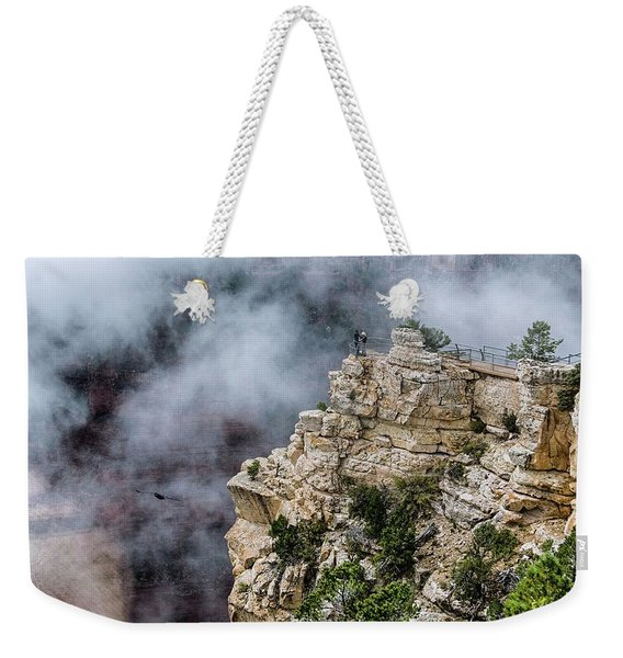 Raven Knows The Canyon Magic Weekender Tote Bag