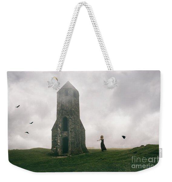 Raven Queen Weekender Tote Bag