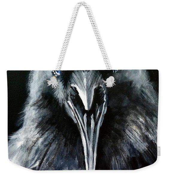 Raven Squawk Weekender Tote Bag
