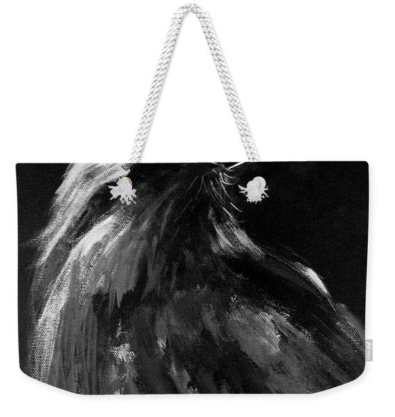 Raven Watching Weekender Tote Bag