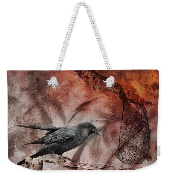 Ravens Lot Weekender Tote Bag