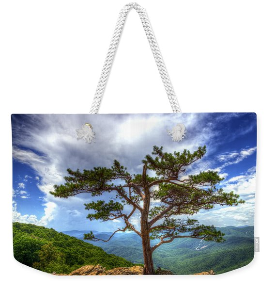 Ravens Roost Tree Weekender Tote Bag