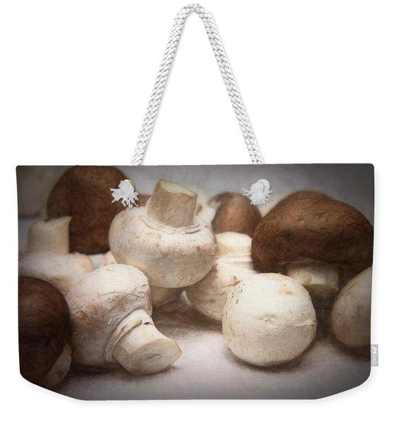 Raw Mushrooms Weekender Tote Bag