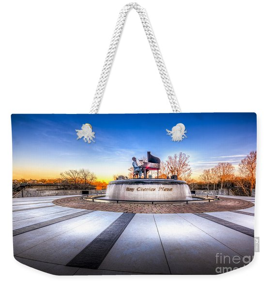 Ray Charles Plaza Weekender Tote Bag