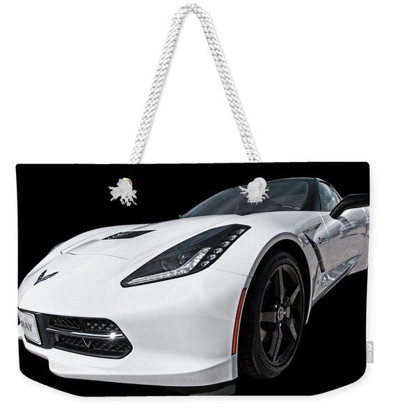 Ray Of Light - Corvette Stingray Weekender Tote Bag