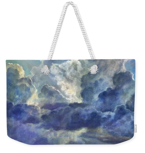 Rays And Rain Weekender Tote Bag