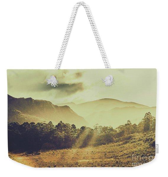Rays Of Dusk Weekender Tote Bag