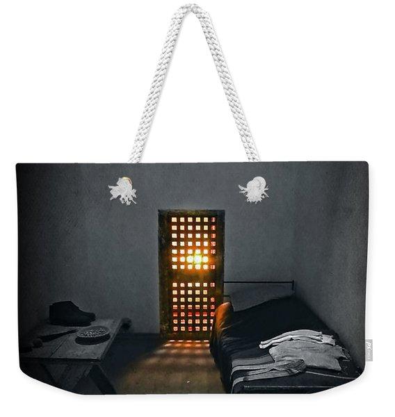 Rays Of Freedom Weekender Tote Bag