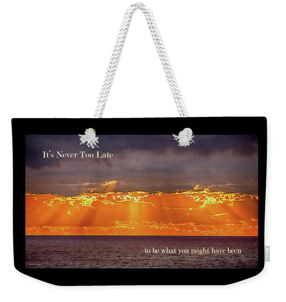 Rays Of Hope Weekender Tote Bag
