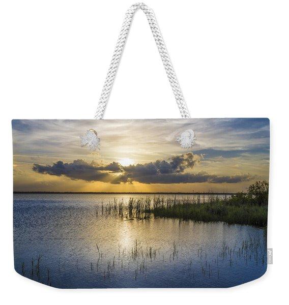 Rays Over The Marsh Weekender Tote Bag