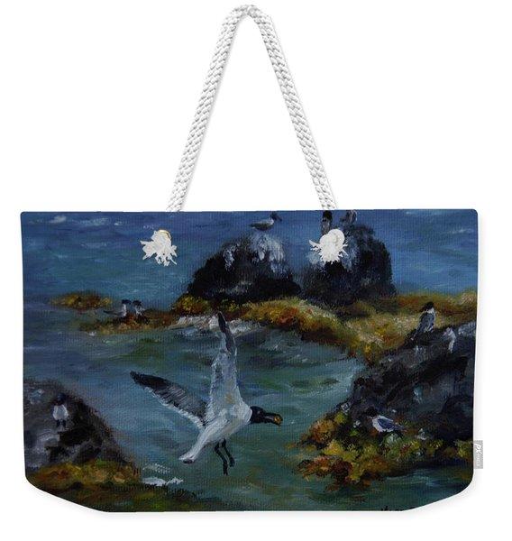 Re-tern-ing Home Weekender Tote Bag
