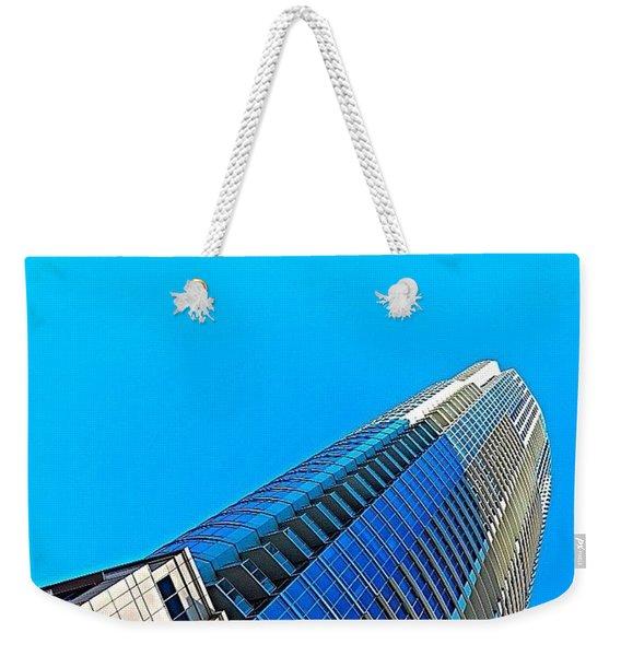 Reach For The #sky. #keepaustinweird Weekender Tote Bag