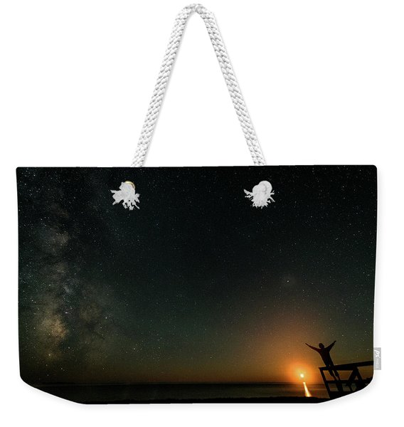 Weekender Tote Bag featuring the photograph Reach For The Stars by Doug Gibbons