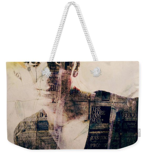 Read All About It  Weekender Tote Bag