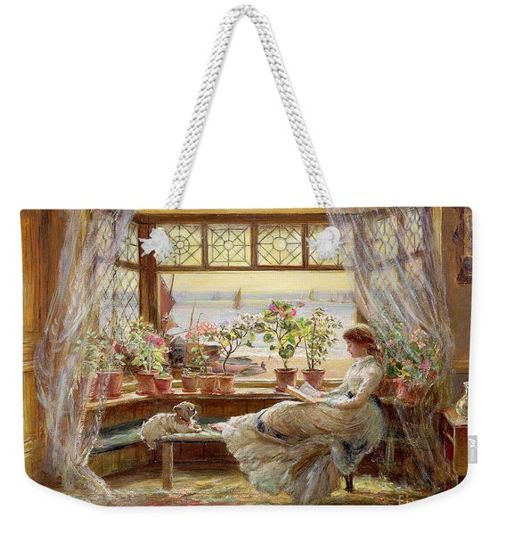Reading By The Window Weekender Tote Bag