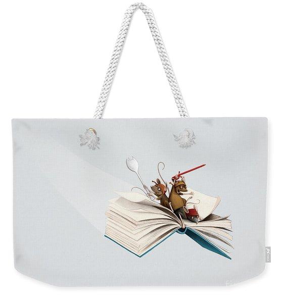 Reading Is An Adventure Weekender Tote Bag
