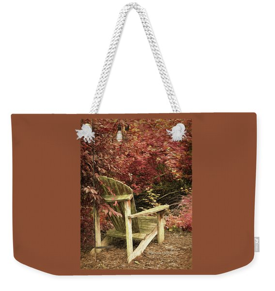 Reading Nook Weekender Tote Bag