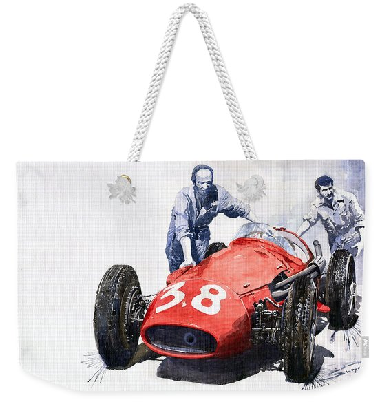 Ready For Racing Maserati 250 F Weekender Tote Bag