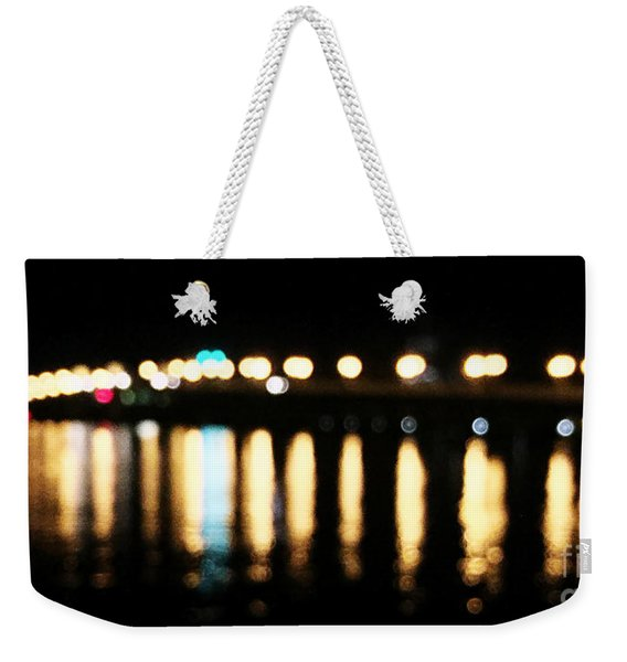Bridge Of Lions -  Old City Lights Weekender Tote Bag