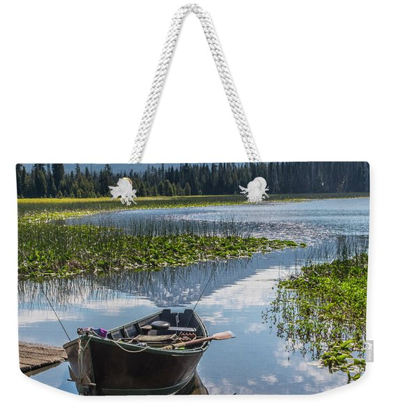 Ready To Fish Weekender Tote Bag