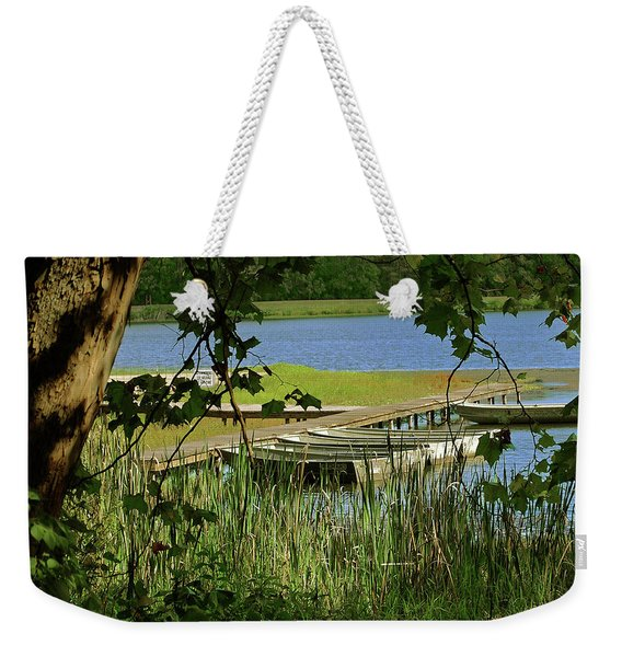 Ready To Row With No One To Go  Weekender Tote Bag